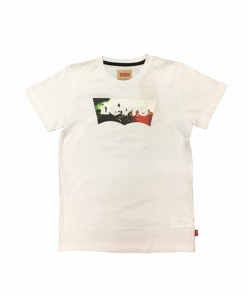 Levi`s T Shirt Kinder, weiß Easy Style Outlet